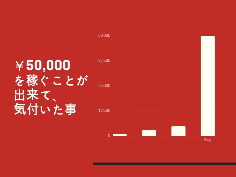 ブログ2月運営報告。月5万円稼ぐようになって気付いたこと。