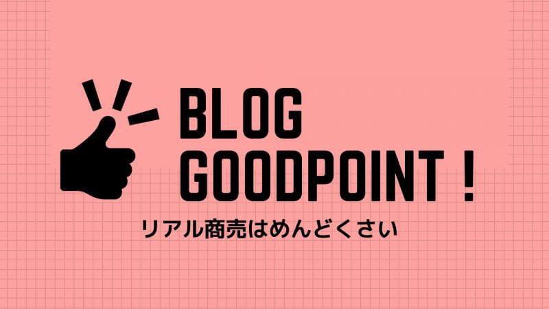 ブログのいいところはリアルに会わなくても稼げるところです。